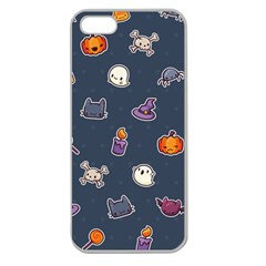 Kawaiieen Pattern Apple Seamless Iphone 5 Case (clear)