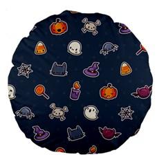 Kawaiieen Pattern Large 18  Premium Round Cushions