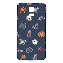 Kawaiieen Pattern Samsung Galaxy S5 Back Case (white)