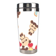 Chocopa Panda Stainless Steel Travel Tumblers by Nexatart