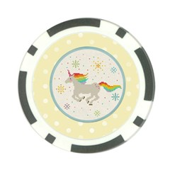 Unicorn Pattern Poker Chip Card Guard (10 Pack)
