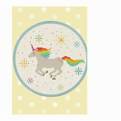 Unicorn Pattern Small Garden Flag (two Sides)