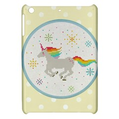 Unicorn Pattern Apple Ipad Mini Hardshell Case by Nexatart