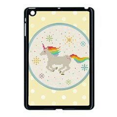Unicorn Pattern Apple Ipad Mini Case (black)
