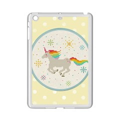 Unicorn Pattern Ipad Mini 2 Enamel Coated Cases by Nexatart