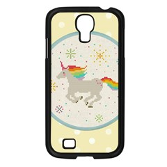 Unicorn Pattern Samsung Galaxy S4 I9500/ I9505 Case (black)