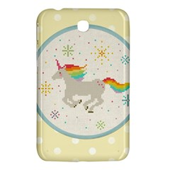 Unicorn Pattern Samsung Galaxy Tab 3 (7 ) P3200 Hardshell Case