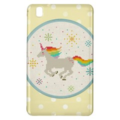Unicorn Pattern Samsung Galaxy Tab Pro 8 4 Hardshell Case by Nexatart