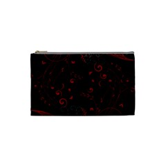 Floral Design Cosmetic Bag (small)  by ValentinaDesign