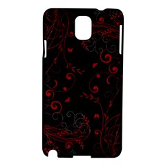 Floral Design Samsung Galaxy Note 3 N9005 Hardshell Case by ValentinaDesign