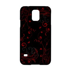Floral Design Samsung Galaxy S5 Hardshell Case  by ValentinaDesign
