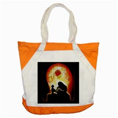 Beauty And The Beast Accent Tote Bag