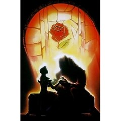 Beauty And The Beast 5 5  X 8 5  Notebooks by Nexatart