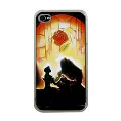 Beauty And The Beast Apple Iphone 4 Case (clear) by Nexatart