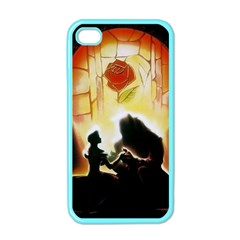 Beauty And The Beast Apple Iphone 4 Case (color) by Nexatart