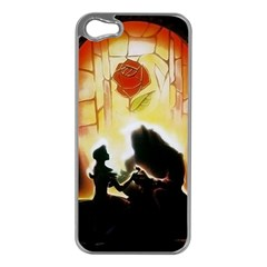 Beauty And The Beast Apple Iphone 5 Case (silver) by Nexatart