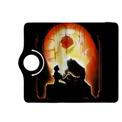 Beauty And The Beast Kindle Fire Hdx 8 9  Flip 360 Case by Nexatart
