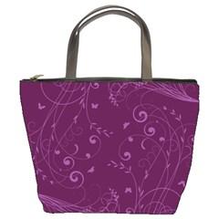 Floral Design Bucket Bags
