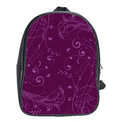 Floral Design School Bags (xl)  by ValentinaDesign