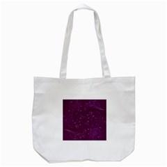 Floral Design Tote Bag (white)