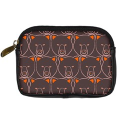 Bears Pattern Digital Camera Cases by Nexatart