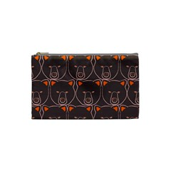 Bears Pattern Cosmetic Bag (small)