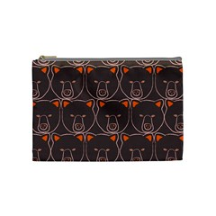Bears Pattern Cosmetic Bag (medium)