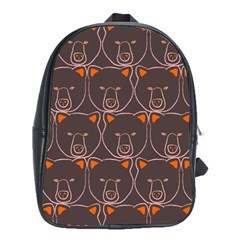 Bears Pattern School Bags(large)