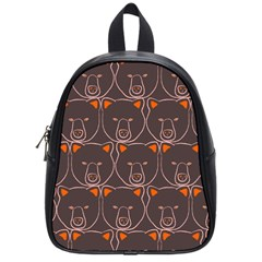 Bears Pattern School Bags (small)  by Nexatart
