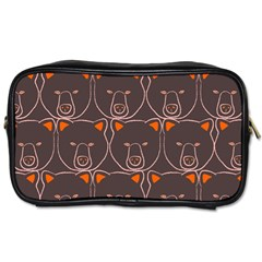 Bears Pattern Toiletries Bags