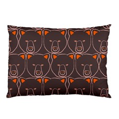 Bears Pattern Pillow Case (two Sides)