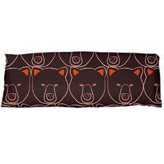 Bears Pattern Body Pillow Case (dakimakura)
