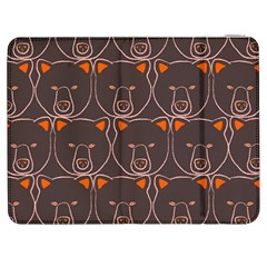 Bears Pattern Samsung Galaxy Tab 7  P1000 Flip Case
