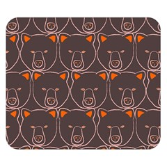 Bears Pattern Double Sided Flano Blanket (small)  by Nexatart
