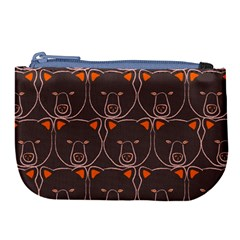 Bears Pattern Large Coin Purse