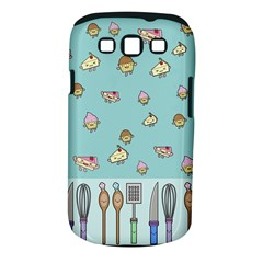 Kawaii Kitchen Border Samsung Galaxy S Iii Classic Hardshell Case (pc+silicone) by Nexatart
