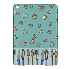 Kawaii Kitchen Border Ipad Air 2 Hardshell Cases by Nexatart
