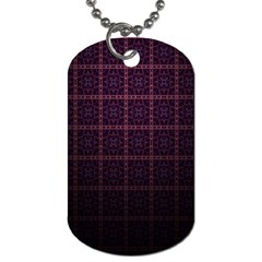 Best Pattern Wallpapers Dog Tag (two Sides)