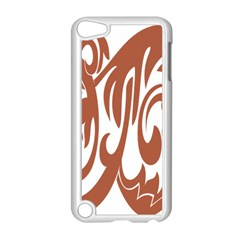 Sign Red Polka Apple Ipod Touch 5 Case (white) by Mariart