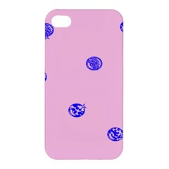 Star Space Balloon Moon Blue Pink Circle Round Polkadot Apple Iphone 4/4s Hardshell Case by Mariart