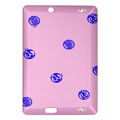Star Space Balloon Moon Blue Pink Circle Round Polkadot Amazon Kindle Fire Hd (2013) Hardshell Case by Mariart