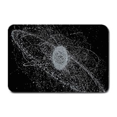 Space X Circle Line Black Plate Mats by Mariart