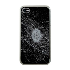 Space X Circle Line Black Apple Iphone 4 Case (clear) by Mariart