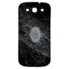 Space X Circle Line Black Samsung Galaxy S3 S Iii Classic Hardshell Back Case by Mariart
