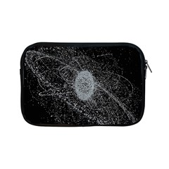 Space X Circle Line Black Apple Ipad Mini Zipper Cases by Mariart