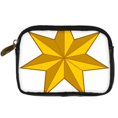 Star Yellow Blue Digital Camera Cases by Mariart