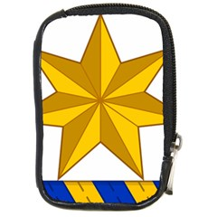 Star Yellow Blue Compact Camera Cases by Mariart