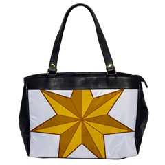Star Yellow Blue Office Handbags by Mariart