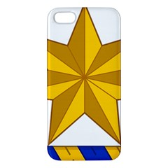 Star Yellow Blue Iphone 5s/ Se Premium Hardshell Case by Mariart