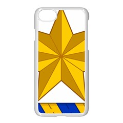 Star Yellow Blue Apple Iphone 7 Seamless Case (white) by Mariart
